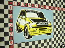 Renault 5 Sport Sticker - R5 GT Turbo Alpine Adesivi Autocollant Aufkleber