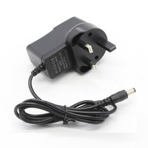 12V 1A DC UK 3 Pin Plug Power Supply Switching Adapter Transformer#dr