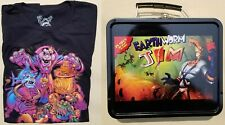 Loot Gaming Boss Battle January 2018 - Conker's L shirt, Earth Worm Jim Lunchbox