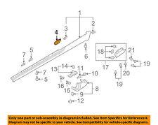 AUDI OEM 04-09 A4 Quattro Exterior-Rocker Panel Molding Retainer Right 8H0853734