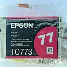 New Genuine Epson T0773 Magenta Ink Cartridge, Stylus Photo RX580, BAG