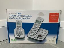 *NEW* BT Studio 4500 Cordless Phone Answerphone with 2 Hand sets