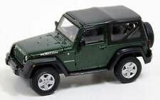 Greenlight 85023 2012 Jeep Wrangler Rubicon Green 1:43 Scale Diecast