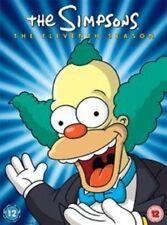 The Simpsons Season 11 Complete DVD (uk) Comedy Animated TV Series Region 2