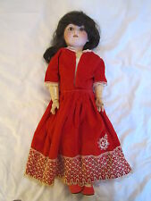 Antique German Bisque Head Doll with Jointed Composition Body 101 - Kestner ?