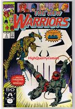 NEW WARRIORS 7, NM+, Punisher, Bengal, Night Thrasher, 1990,more Marvel in store