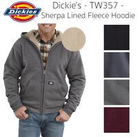 Dickies Men's TW357 Sherpa Lined Fleece Zip Up Hoodie