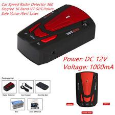 12v Magical Car Speed Radar Detector 16Band V7 GPS Safe Voice Alert Laser