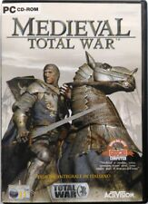 Gioco Pc Medieval Total War - Versione intergrale in italiano Activision Usato