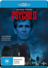 PSYCHO II (Anthony Perkins)  2  - Blu Ray - Sealed Region B