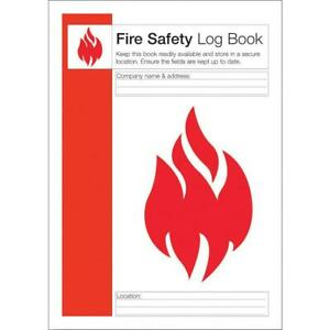 Click Workplace Fire Safety Log Book