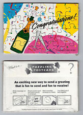 New Congratulations Puzzle Postcards Set of 10 Cards Postcard Post Cards