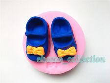Nuevos Zapatos De Bebe De Silicona Molde Fondant Molde Cake Decorating Sugarcraft Chocolate