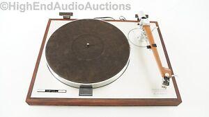 Luxman PD121 Turntable Record Player - Grace 714 Tonearm - Denon Cartridge