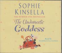 Sophie Kinsella The Undomestic Goddess 3CD Audio Book Abridged FASTPOST