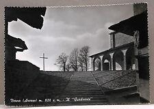 """VERNA (Arezzo) m.1128 s.m. - Il """"Quadrante"""" [grande, b/n, viagg.]"""