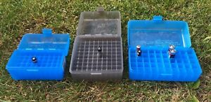 AA & AAA MTM Bulk Battery Storage Box Tough Clear View Lid 50 or 100 Batteries