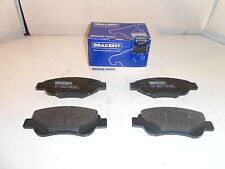 Rear Brake Pads Peugeot 307 SW 2.0 HDI 110 Estate 3H 02-08 107HP 86.98x53mm