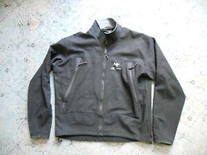 Men's ARCTERYX black soft shell jacket Sz. XL