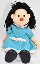 Vintage 1996 Playmates Big Comfy Couch Molly Vinyl & Plush Yarn Hair Doll Cute