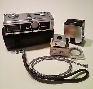 VINTAGE ROLLEI 16S SUBMINIATURE CAMERA - COMPLETE SET - MINT