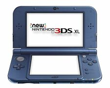 New Nintendo 3DS XL Console - Metallic Blue - plays all USA games