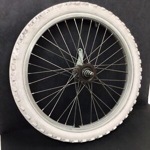 "20"" Rear Alloy Bicycle Wheel w/ Coaster Brake & 1.95"" Tire - Bmx Bike #N28"