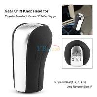 5 Speed Manual Gear Stick Shift Knob For Toyota Corolla Verso Rav4 Avensis Aygo
