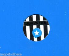 KICA Sorprese Decalcomania Figurina-Sticker anni 60 - JUVENTUS SCUDETTO METALLO