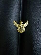 PHAYA KRUT NAK Garuda Thailand Gold Color Pin Magic Luck Protect Wealth