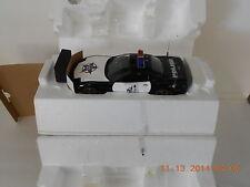FRANKLIN MINT 1999 Chevrolet FOP Corvette POLICE 1:24 Diecast B11C401