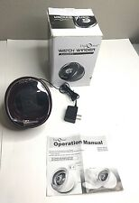 Diplomat Watch Winder Burgundy Color Single Automatic With Built In IC Timer
