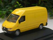 High Speed 1/87 Diecast Model Car 1999 Mercedes Benz Sprinter  Van (YELLOW )