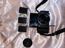 Sony Alpha A5100 24.3MP Digital Camera - Black (Kit with16mm f/2.8 E-Mount Lens