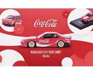INNO64 Exclusive Nissan Silvia S13 V12 Coca-Cola Rocket Bunny (NP19)
