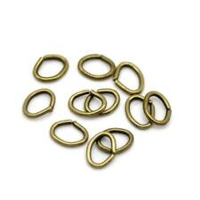 Packet 1100+ Antique Bronze Metal Alloy Oval Open Jump Rings 4 x 5mm Y09665