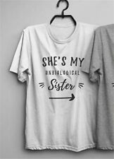Best Friend Funny T-shirt Gift Shirt She Is My Sister Tee Goth Tumblr Women Tops