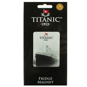 Titanic Grey Collectors Metal Fridge Magnet (sg)