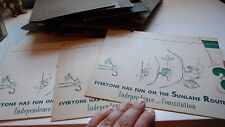 3 Vtg Independence Constitution Cruise Ship Photographs Dinner Dancing Captain