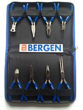 BERGEN Tools 8pc Mini Pliers Set NEW B1726