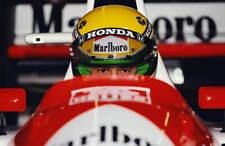 F1 Ayrton Senna Mclaren Motorsport art poster