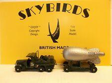 Skybirds Models.  Barrage Balloon Set.