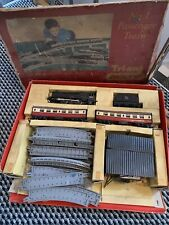 Classic vintage Toy TRI-ANG PASSENGER Train Number 1 BOX SET OO gauge lot