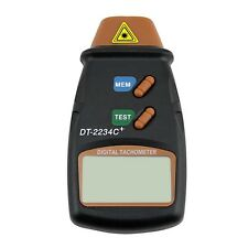 Handheld  Digital Laser Photo Tachometer Non Contact RPM Tach Meter  DT- 2234C+