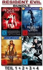 RESIDENT EVIL Collection PART 1 2 34 Apocalypse EXTINCTION Afterlife DVD Edition