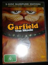 Garfield The Movie - 2 Disc Bumpurr Edition. Incl. DVD + Activity Disc.