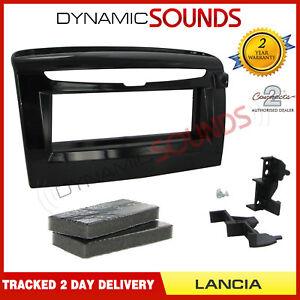 CT24LA03 Gloss Black Single Din Fascia fascia Panel for Lancia Ypsilon 2012>