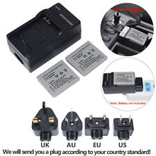 2 BATTERY & Charger FOR CANON NB-4L H IXUS 80 40 50 55 IXY TX1 TX 1