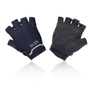 Gore Mens GORE C5 Short Gloves Black Navy Blue Sports Breathable Reflective