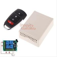 4 Channel Learning Code RF Wireless Remotes And Relay Receiver DC 12V RF 433MHZ